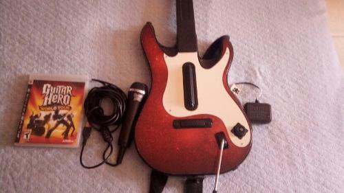 Combo Guitar Hero Ps3