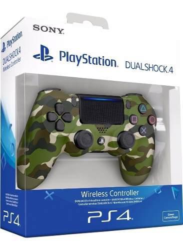 Control Ps4 Dualshock 4 Camuflado. Nuevo. Garantia