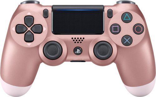 Control Ps4 Dualshock 4. Rosado Oro 2da Generación + Grips