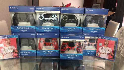 Controles Playstation 4