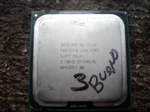Procesador intel dual core e5200 2.5gh/2mb/800 socket775 (5)