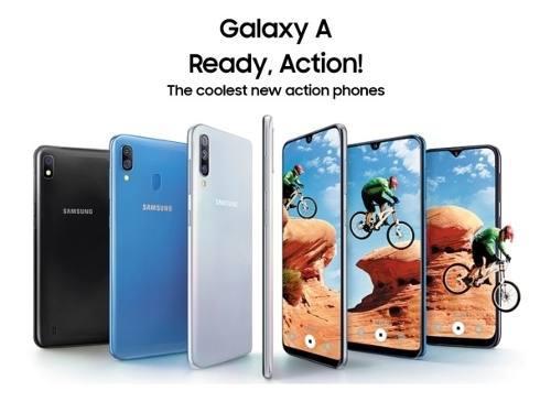 Samsung serie a10 a20 a30 a50, a70 desde 100v tienda