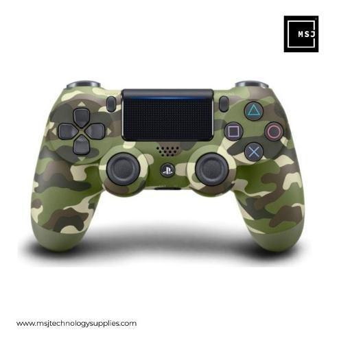 Sony Control Playstation 4 Negro Camuflaje Shock Wireless