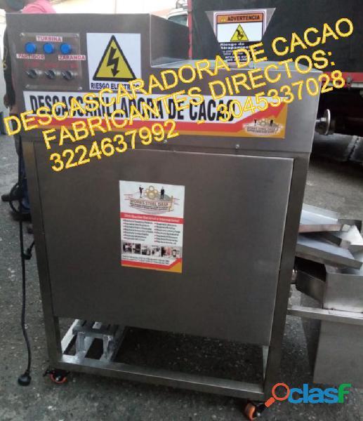 Maquina Descascarilladora De CACACO