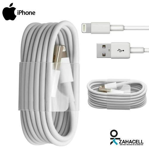 Cable certificado usb datos iphone 5 6 7 8 plus x ipad ipod