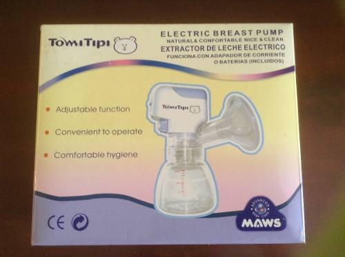 Extractor de leche materna eléctrico tomi tipi
