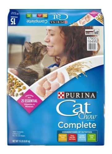 Gatarina purina cat chow 15lb 6.8kg detallada 8verdes x kg