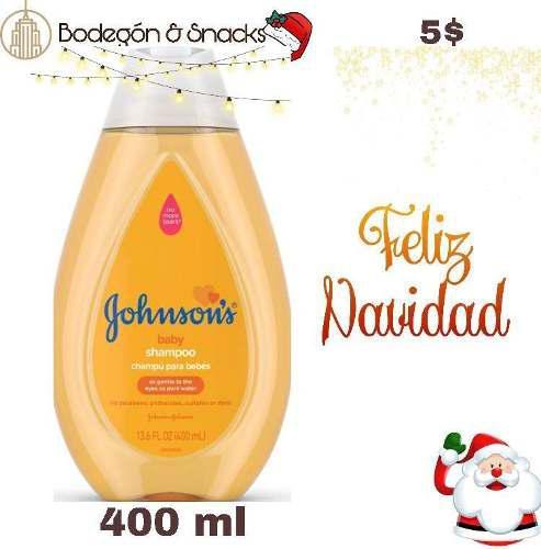 Shampoo johnson 400ml y 800ml
