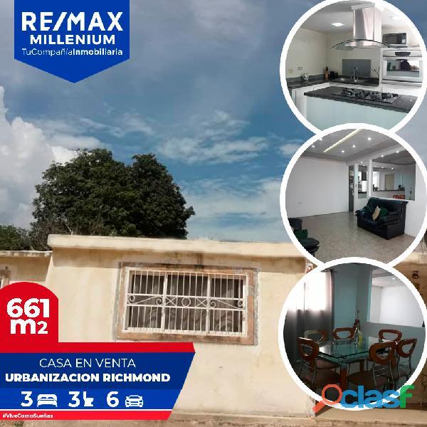 Casa venta maracaibo richmond lilianaremax