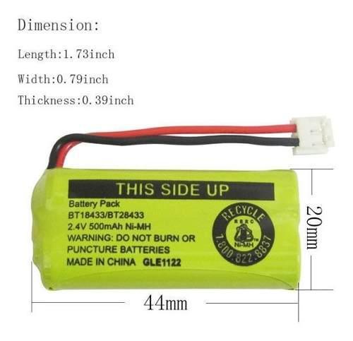 Bateria para telefonos bt1011 / bt18433 / bt28433 garantia