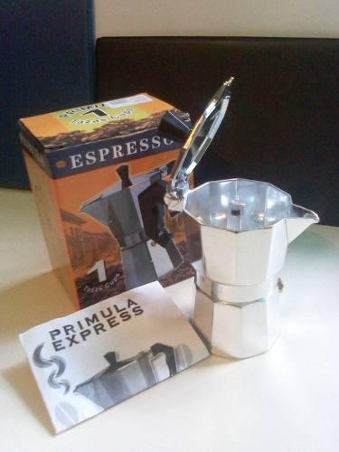 Cafetera Express Primula 1 Y 6 Tazas