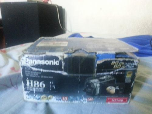 Filmadora panasonic h86 80gb