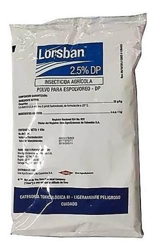 Lorsban (insecticida) 1 kilo