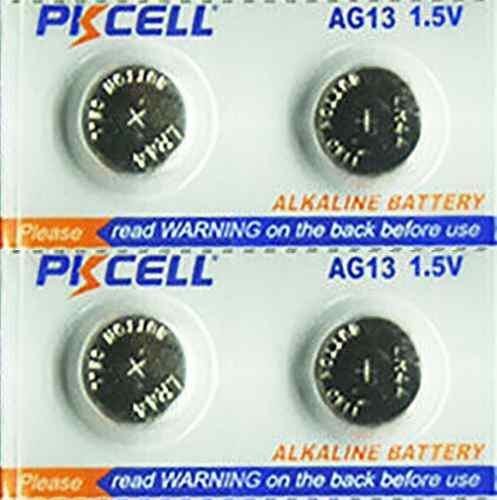 Pila batería lr44 a76 ag13 357 pkcell blister de 4 baterias