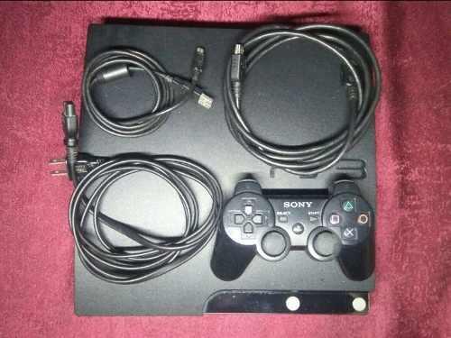 Playstation 3 slim con juegos instalados