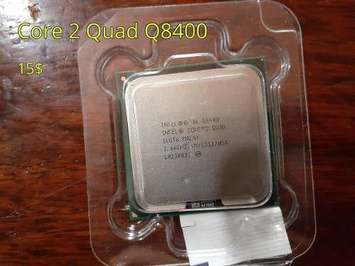 Procesador socket 775 core 2 quad q8400