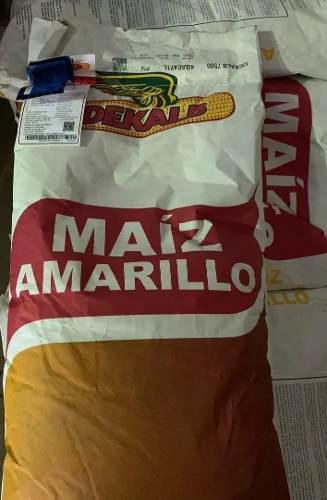 Semillas certificadas de maiz amarillo dekalb