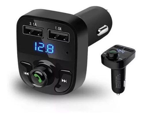 Transmisor Fm Bluetooth Adaptador X8 Mp3 Sd Cargador Carro