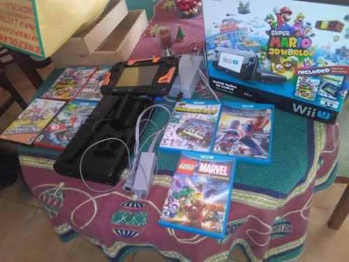 Wii U Negro Edición Súper Mario 3d World 32gb