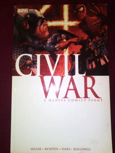 Civil war comics marvel