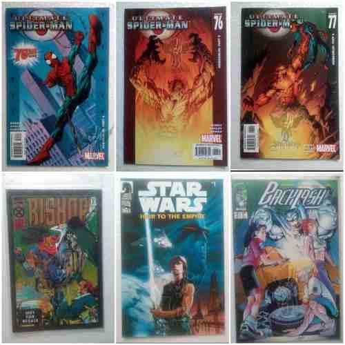 Comic's lote de 7 unidades en ingles