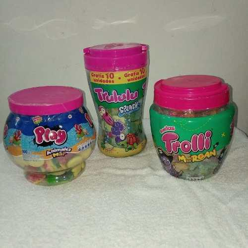 Gomitas trolli morgan trululu splash play animales
