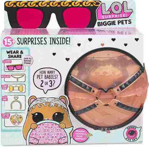 Lol surprise mascota biggie pets 15 sorpresas original 40ver