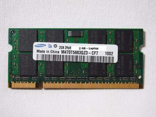 Memorias ram 2 gb lenovo thinkpad sl400 sl500 t61 r61 r60
