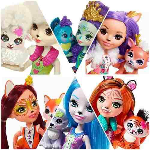 Muñecas enchantimals barbie doll