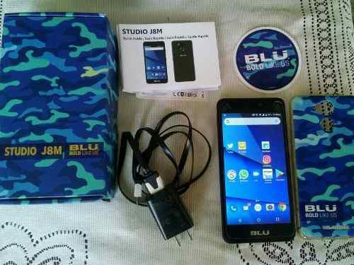 Oferta blu studio j8m huella 5' 2gb ram 16gb android 7.0