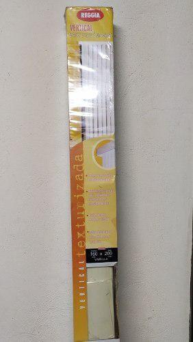 Persiana verticales reggia 1.60m x 2m color vainilla **45**