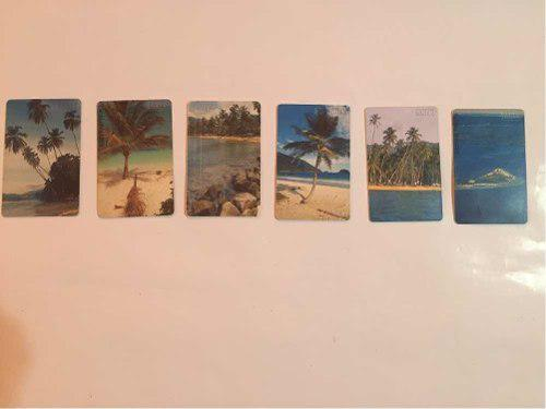 Tarjetas telefónicas colección playas venezolanas!!!!