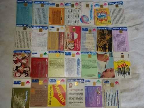 Tarjetas telefónicas para coleccionistas