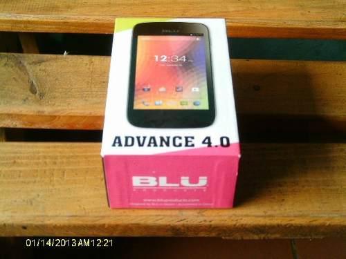 Teléfono blu advance 4.0 placa quemada