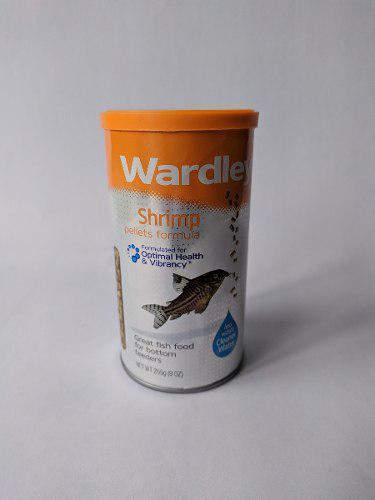 Wardley pellets alimento para gambas y peces de fondo 255gr