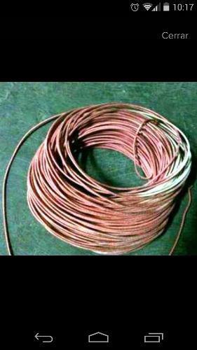Cable De Alta Temperatura O Fibra De Vidrio Con Silicona N14