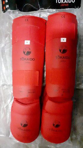 Espinilleras De Karate Do Wkf Tokaido Solo Talla S Nuevas