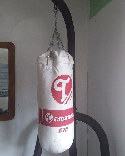 Saco de boxeo tamanaco y gancho