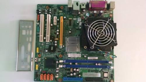 Tarjeta Madre Lenovo Intel G31t-lm 775 Ddr2 4gb