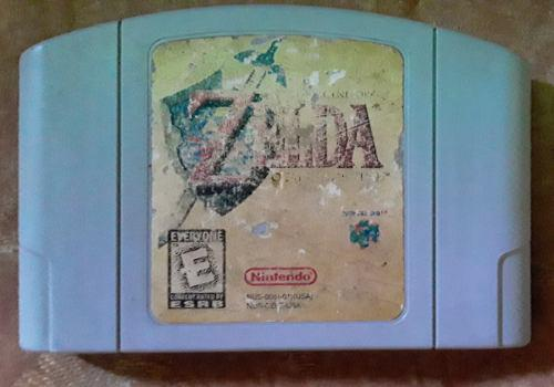 The legend of zelda ocarina of time nintendo 64