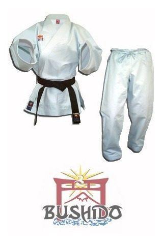 Uniforme, Kimono De Karate Bushido Liviano Talla 1, 2 Y 3