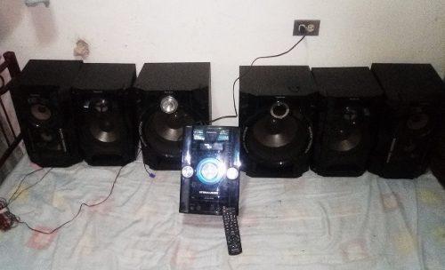 Equipo de sonido panasonic modelo sa_akx92