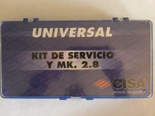 Kit de servicio cisa mk 2.8 cisa cerrajeria cerrajero