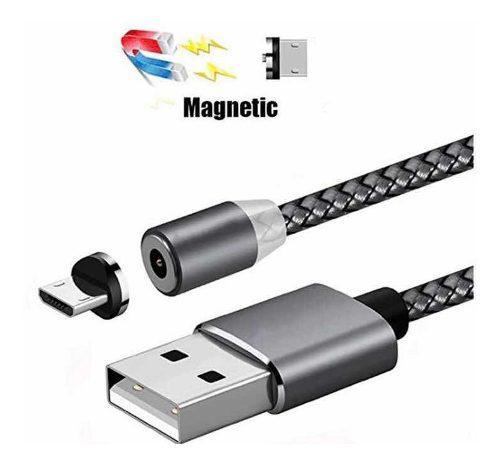 Cable usb magnético para carga de iphone, android y tipo c