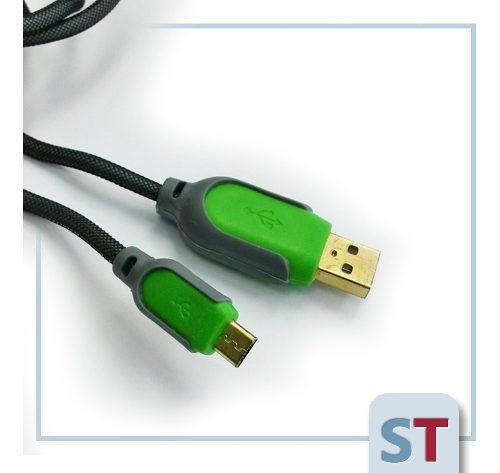 Cable usb para celulares | conector tipo samsung | reforzado