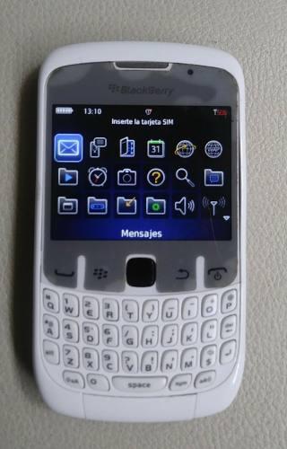 Celular blackberry 8520, 100% operativo, digitel, 8$