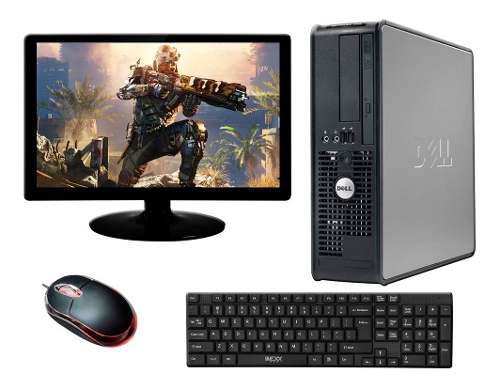 Computadora dell c2d 160gb monitor 19 refurbished bagc
