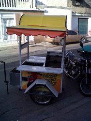 Nuevo remolque de moto para comida rapida