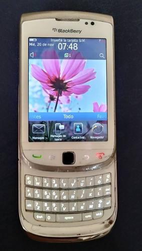Teléfono blackberry 9800 liberado,operativo con cargadr 9$