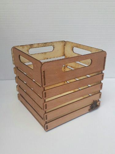 Cajas de mdf crudo/ pintada /madera/ para rosas/arreglos